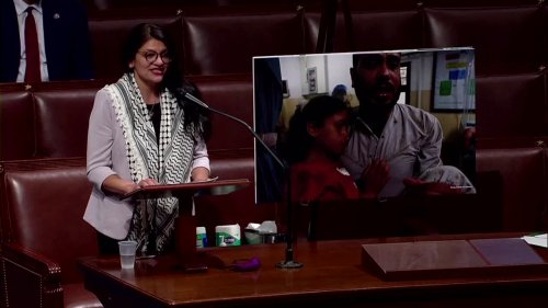 Rep. Tlaib questions U.S. 'unconditional support' of Israel