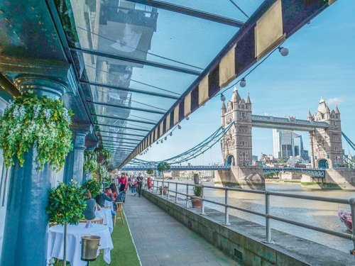 BEST PLACES TO EAT OUTDOORS IN LONDON