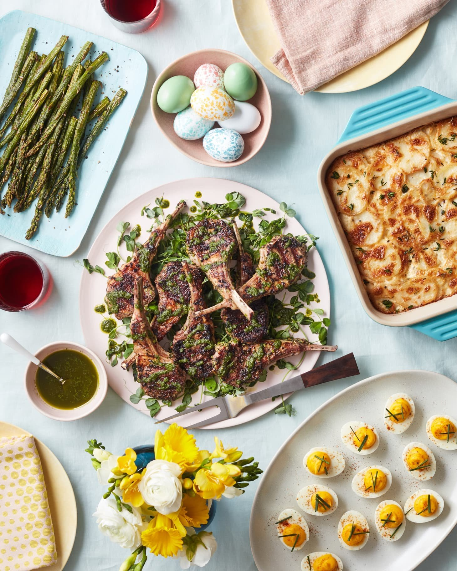 The Best Easter Menu Starts with Your Grill