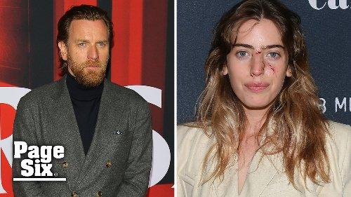 Ewan McGregor's daughter Clara's face bitten by dog before premiere