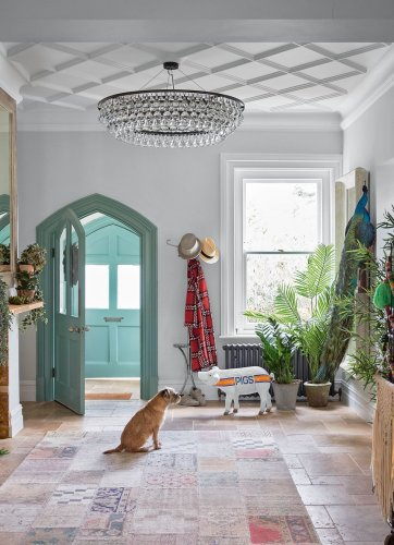 These joyfully bright homes are sure to put a smile on your face