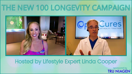 """WATCH EPISODE EIGHT-""""REIMAGINING AGING: A CALL TO ACTION"""" Host Linda Cooper interview with Dr. Kevin Perrott"""