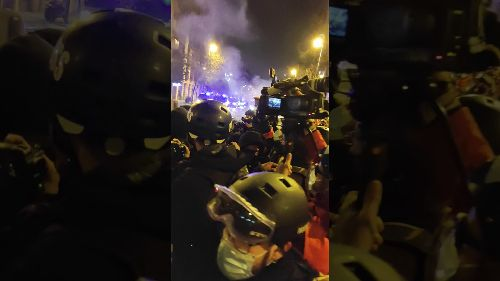 Clashes in Third Day of Protest to Support Jailed Rapper