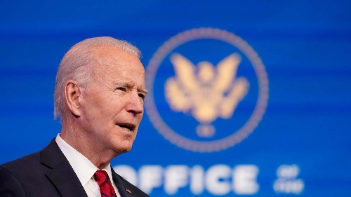 Stocks Close Lower as Investors Digest President-Elect Biden's Latest Relief Plan
