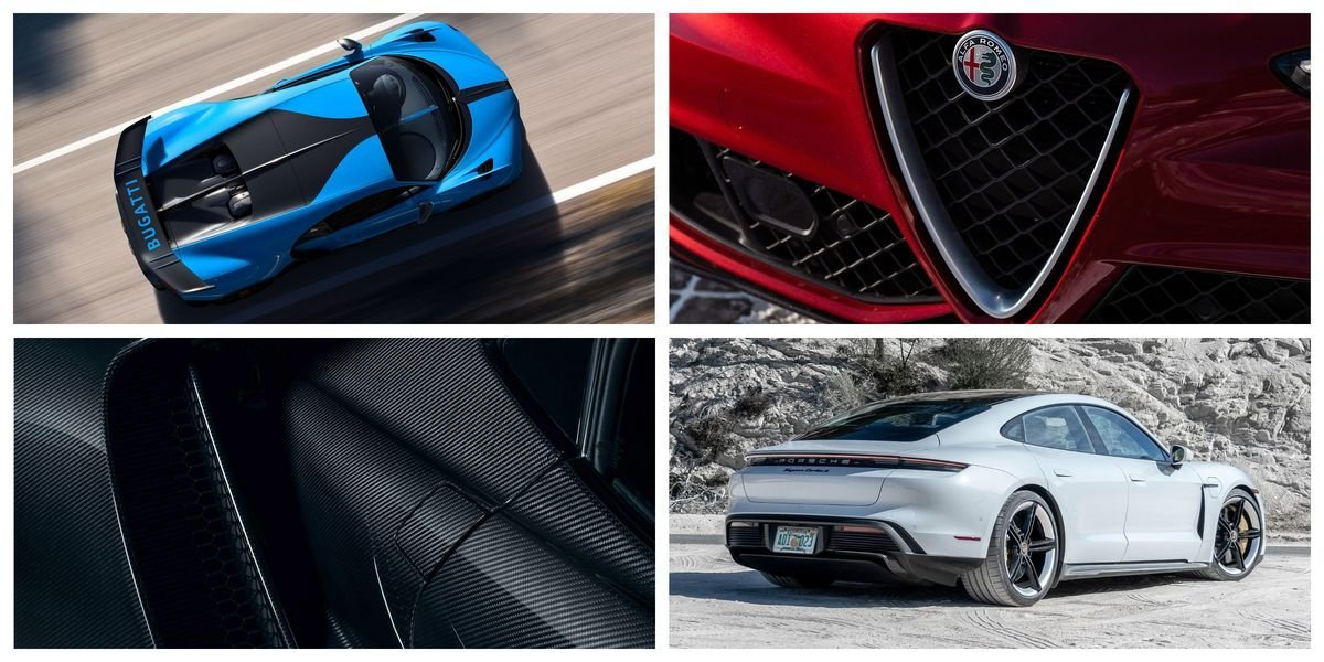 The most beautiful new cars right now