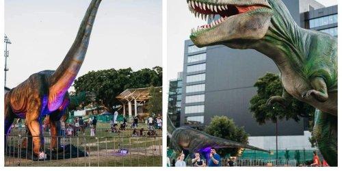Le Jurassic Fest débarque près de Montréal avec ses énormes dinosaures