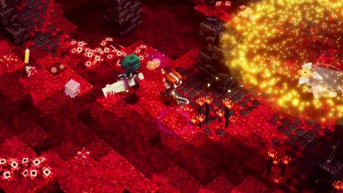 Minecraft Dungeons: Flames of the Nether DLC Trailer