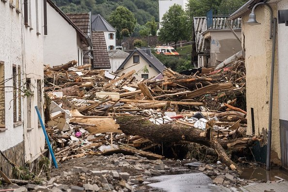 Flooding in Western Europe Leaves Trail of Destruction as Hundreds Still Missing