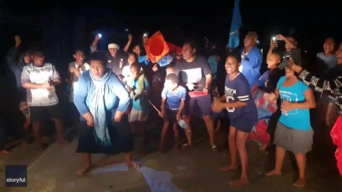 Celebrations Erupt in Fiji After Olympic Rugby Win Over New Zealand