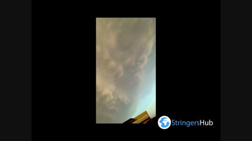 US: Mammatus clouds spotted over Austin, Texas
