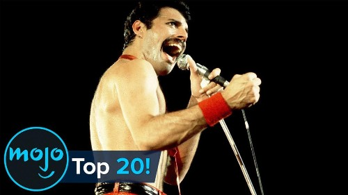Top 20 Greatest Freddie Mercury Moments Ever