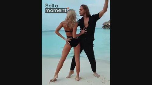 Amazing Couple Dance Rumba to Sounds of the Ocean