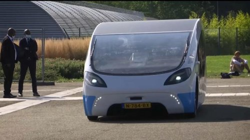 Dutch students develop solar-powered camper to travel more sustainably