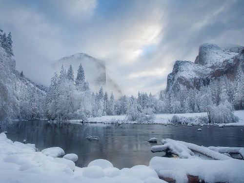 Breathtaking photos of winter wonderlands