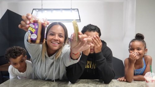 Husband And Kids Try Mom's Weird Pregnancy Cravings