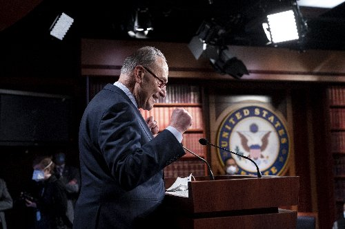 'We can do big things,' Schumer says as Senate approves aid