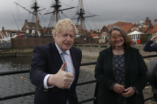UK's Johnson hails electoral win as focus turns to Scotland
