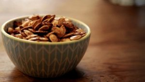 Try This Delicious and Healthy Fall Snack! Roasted Pumpkin Seeds!