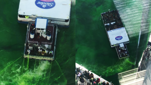 'REVEALED: This is How Chicago Dyes the River Green for St. Patrick's Day!'