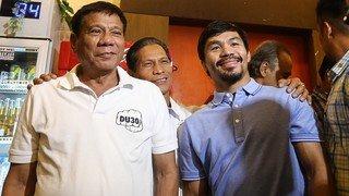 Duterte denies corruption allegation, says Pacquiao is 'punch-drunk'