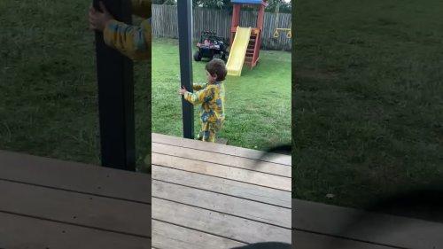 "Cute Toddler Tells his Mom ""My Car Got F*ked"""