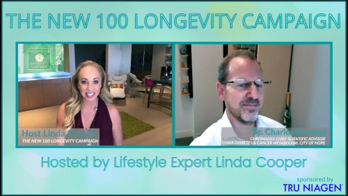 WHY BOOSTING OUR NAD+ METABOLISM IS A KEY COMPONENT TO HEALTHY AGING - EP10 THE NEW 100 LONGEVITY CAMPAIGN