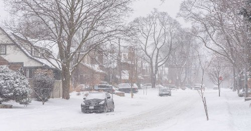 Parts Of Ontario Will Be Blasted By 35 cm Of Snow Today