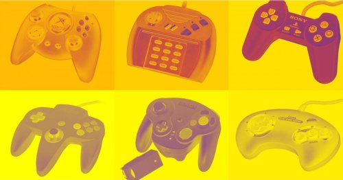 The weird and wonderful history of the video game controller