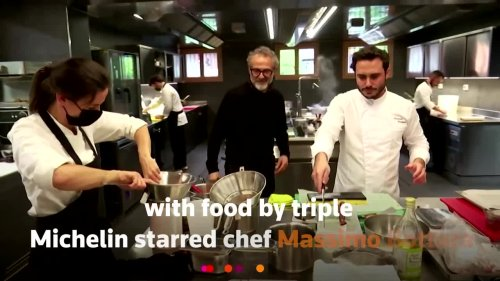 Welcome to Ferrari's Michelin-starred restaurant