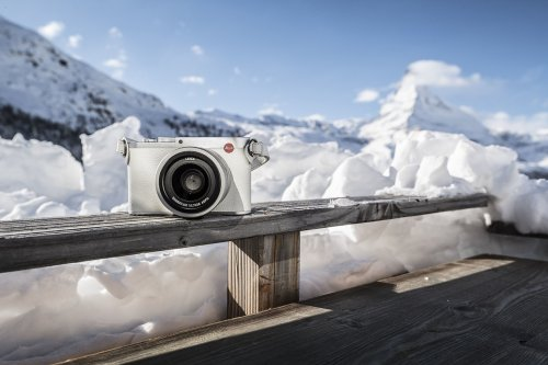 Leica is selling a limited edition snow white camera for the Olympics