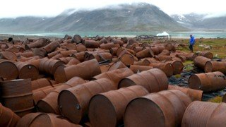 Remnants of US army bases in Greenland pose pollution threat