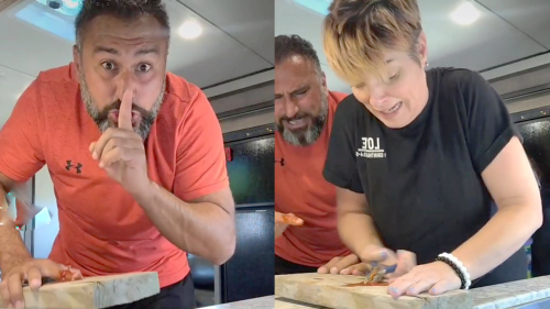 'Nailed It! Family's Funny Reaction to the 'Finger in Nail' Prank'