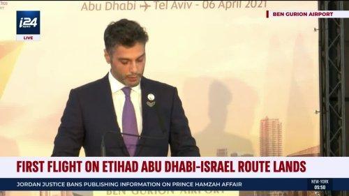 Etihad Airways Launches Direct Flights to Israel