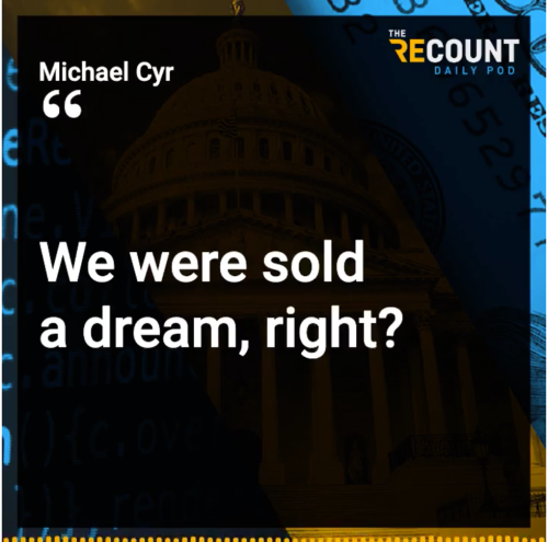 This week on The Recount Daily Pod