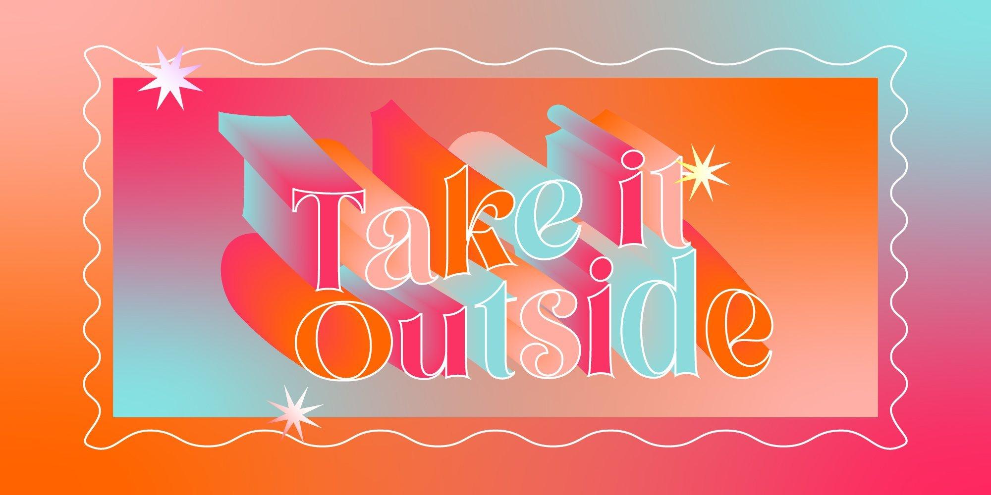 Take It Outside - Summer Drinking