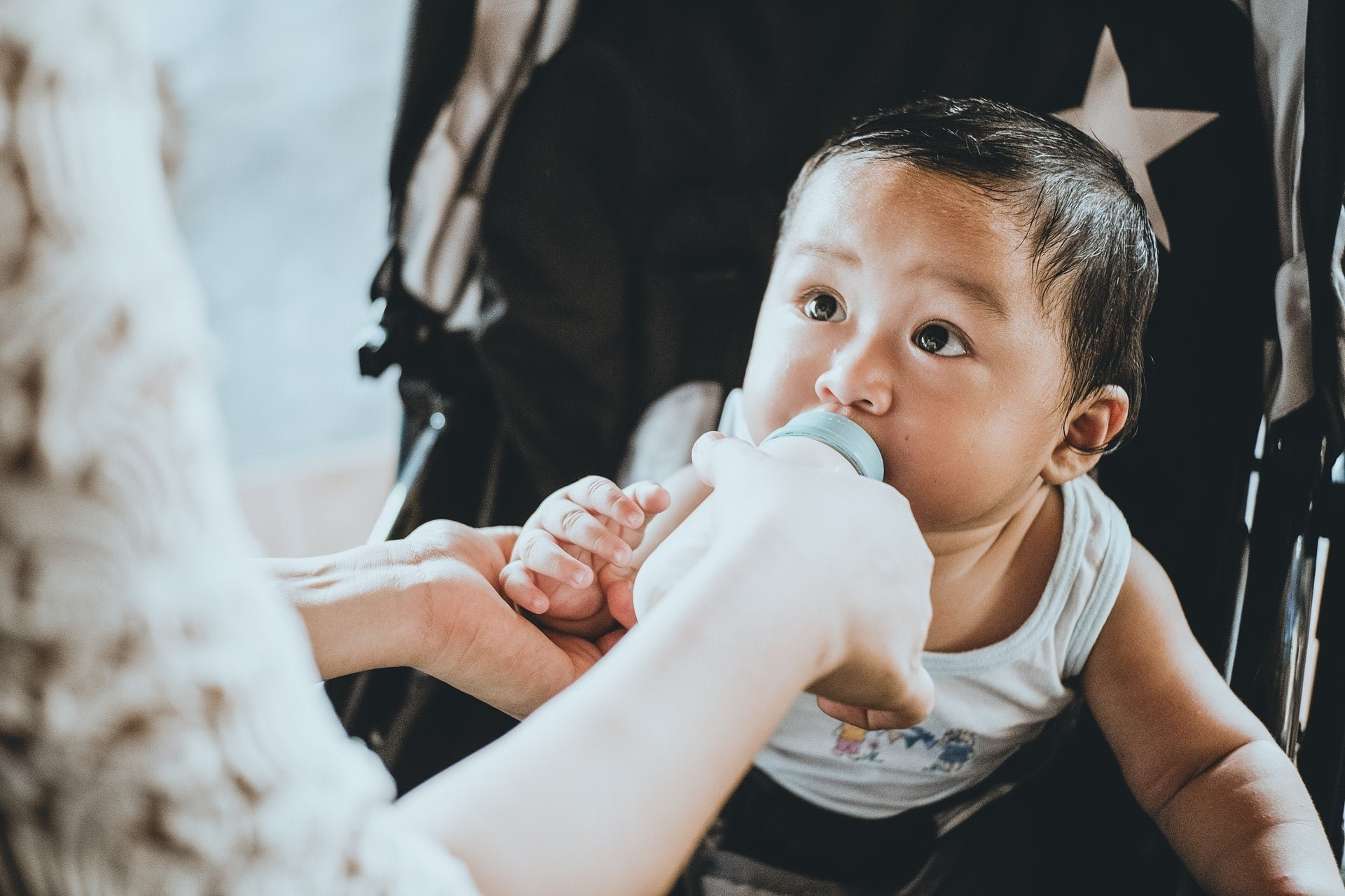 What are the benefits of 'vaccinated' breast milk?
