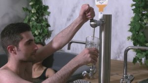 Beer Bath! Brussels Business Where Customers Sit in a Beer Broth To Open Next Month!