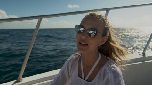 Whale Watching in the Dominican Republic With Josephine Skriver