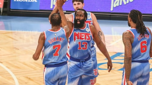 James Harden Records 30-Point Triple-Double in Nets Debut, Brooklyn Defeats Magic 122-115