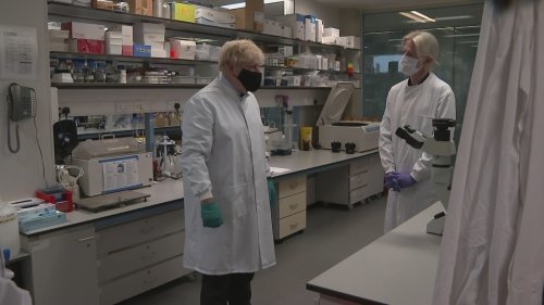 Boris Johnson sets out plan to make UK 'science superpower'