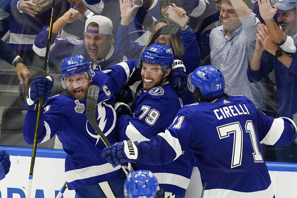 The Lightning Deliver the City of Tampa Its Third Championship in Nine Months