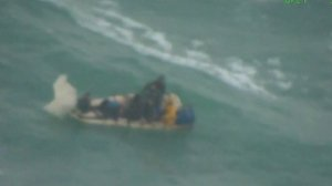 Watch As This Boat With Cuban Migrants Capsized After More Than 16 Days at Sea