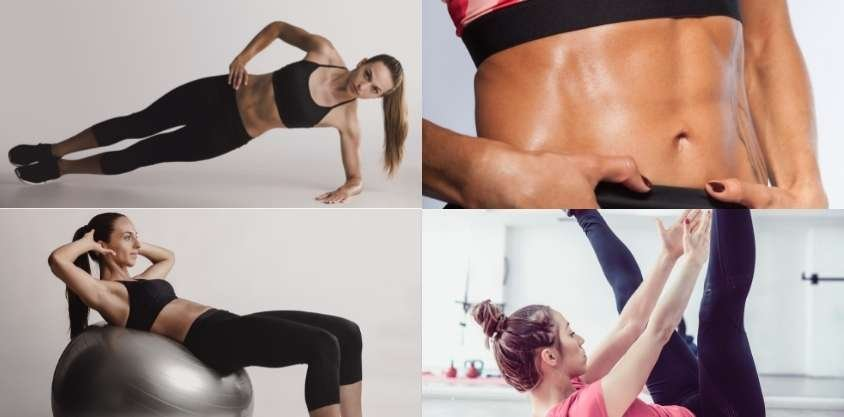 25 Best Ab Workouts for Women to Get a Flat Stomach