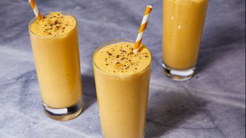 You'll Want To Sip On This Mango Lassi All Day Every Day
