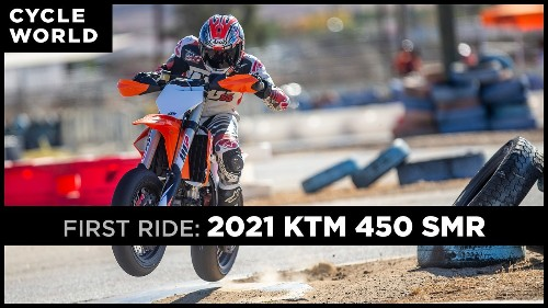 2021 KTM 450 SMR First Ride Review
