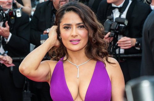 Salma Hayek Makes Surprising Weight Reveal About Bikini Body