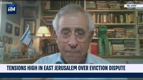 Tensions boil over in Jerusalem over eviction dispute