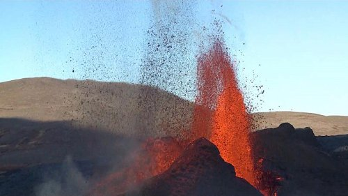 Icelandic volcano becomes more volatile and powerful