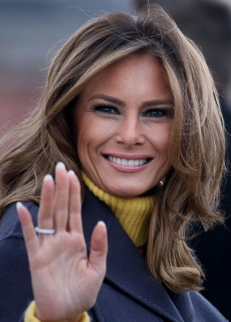 Why Fans Think Melania Trump's Wedding Ring Is A Fake