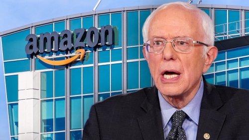 Amazon Takes On Bernie Sanders Over Who's More Progressive
